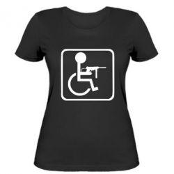 Жіноча футболка Інвалід з MP40