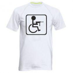Чоловіча спортивна футболка Інвалід з MP40