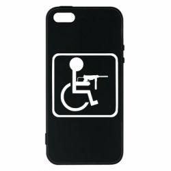 Call of Duty, Чехол для iPhone5/5S/SE Инвалид с MP40, FatLine  - купить со скидкой
