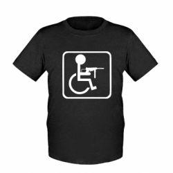 Дитяча футболка Інвалід з MP40