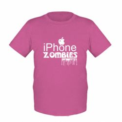 Дитяча футболка iPHONE ZOMBIES