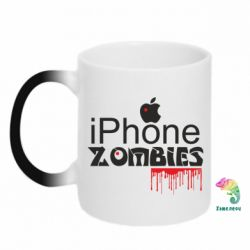 Кружка-хамелеон iPHONE ZOMBIES