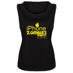 Майка жіноча iPHONE ZOMBIES
