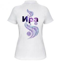 Женская футболка поло Ира