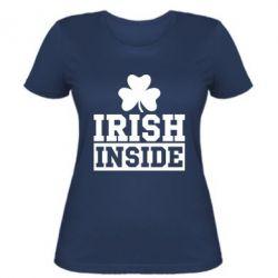 Женская футболка Irish Inside