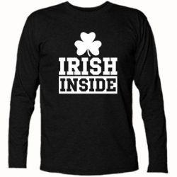 Футболка с длинным рукавом Irish Inside