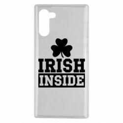 Чехол для Samsung Note 10 Irish Inside