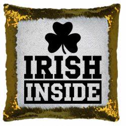 Подушка-хамелеон Irish Inside