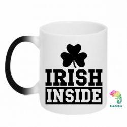 Кружка-хамелеон Irish Inside