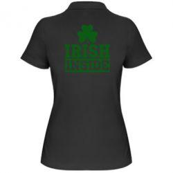 Женская футболка поло Irish Inside