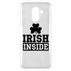 Купить St. Patrick's Day, Чехол для Samsung A6+ 2018 Irish Inside, FatLine