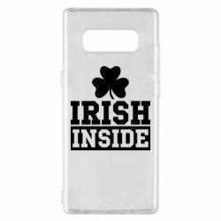 Чехол для Samsung Note 8 Irish Inside