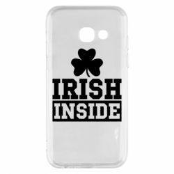 Купить St. Patrick's Day, Чехол для Samsung A3 2017 Irish Inside, FatLine