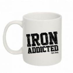 Кружка 320ml Iron Addicted