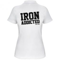 Жіноча футболка поло Iron Addicted