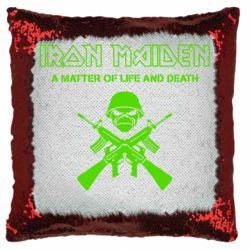 Подушка-хамелеон Iron Maiden