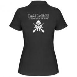 Женская футболка поло Iron Maiden - FatLine
