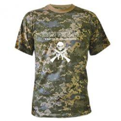 Камуфляжная футболка Iron Maiden - FatLine