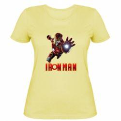 Жіноча футболка Iron Man 2