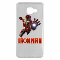 Чохол для Samsung A7 2016 Iron Man 2