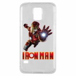 Чохол для Samsung S5 Iron Man 2