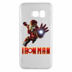 Чохол для Samsung S6 EDGE Iron Man 2