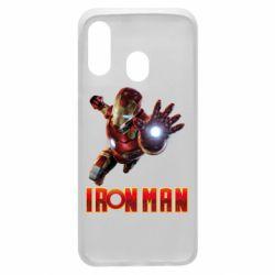 Чохол для Samsung A40 Iron Man 2