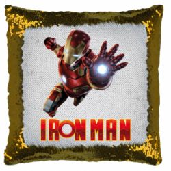 Подушка-хамелеон Iron Man 2