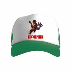 Дитяча кепка-тракер Iron Man 2