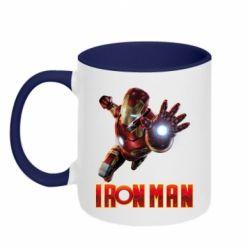 Кружка двоколірна 320ml Iron Man 2