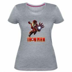 Жіноча стрейчева футболка Iron Man 2