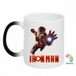 Кружка-хамелеон Iron Man 2