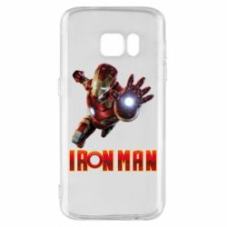 Чохол для Samsung S7 Iron Man 2
