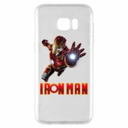 Чохол для Samsung S7 EDGE Iron Man 2