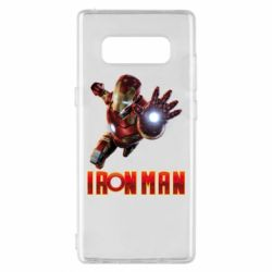 Чохол для Samsung Note 8 Iron Man 2