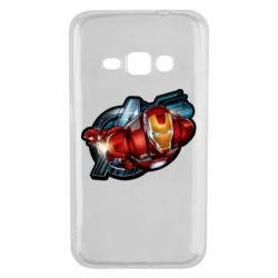 Чохол для Samsung J1 2016 Iron Man and Avengers