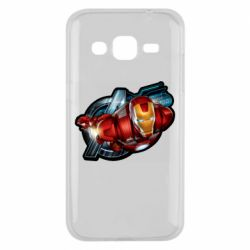 Чохол для Samsung J2 2015 Iron Man and Avengers
