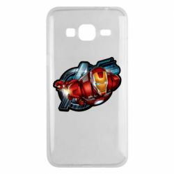 Чохол для Samsung J3 2016 Iron Man and Avengers