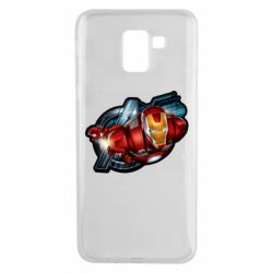 Чохол для Samsung J6 Iron Man and Avengers