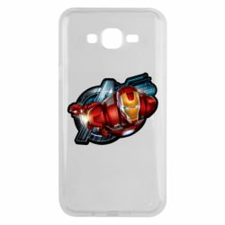Чохол для Samsung J7 2015 Iron Man and Avengers