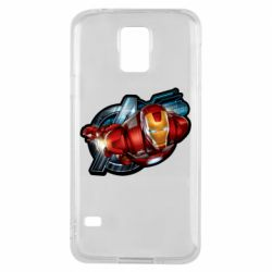 Чохол для Samsung S5 Iron Man and Avengers