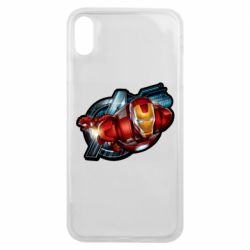 Чохол для iPhone Xs Max Iron Man and Avengers