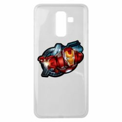 Чохол для Samsung J8 2018 Iron Man and Avengers