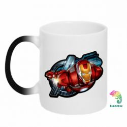Кружка-хамелеон Iron Man and Avengers