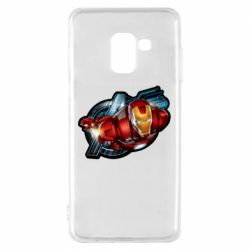 Чохол для Samsung A8 2018 Iron Man and Avengers