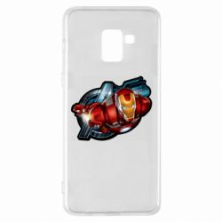 Чохол для Samsung A8+ 2018 Iron Man and Avengers