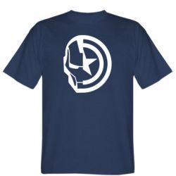 Чоловіча футболка Iron Man and Captain America