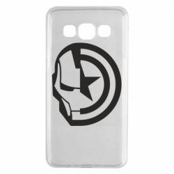 Чохол для Samsung A3 2015 Iron Man and Captain America
