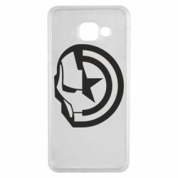 Чохол для Samsung A3 2016 Iron Man and Captain America