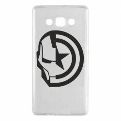 Чохол для Samsung A7 2015 Iron Man and Captain America